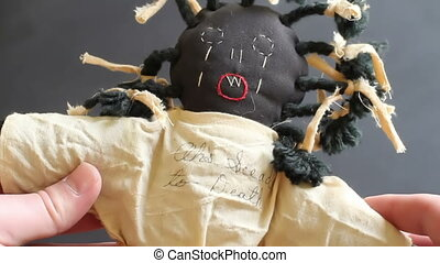 Horrible Old Racist Doll