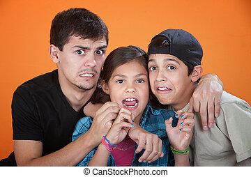 Horrifed Kids