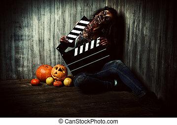 horror, éjszaka