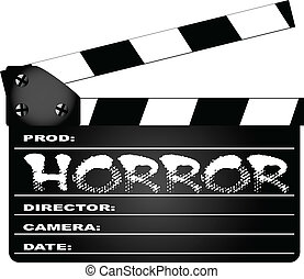 Horror Clapperboard