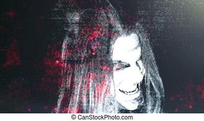 Horror Grunge Death Light Leak