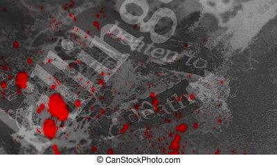 Horror Grunge Loop - Looping Horror Animated Background