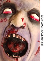 Horror Head - Bloody deformed head. Great for Halloween...