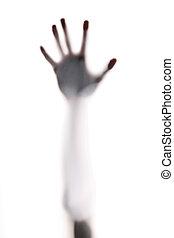 horror, kéz