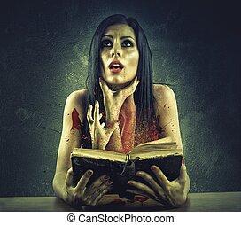 horror, libro