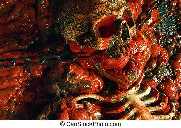 horror, mindenszentek napjának előestéje