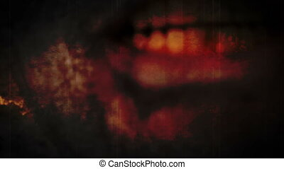 Horror Mouth and Frightened Eye Zombie