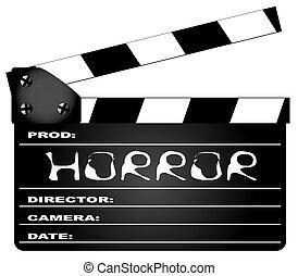 Horror Movie Clapperboard