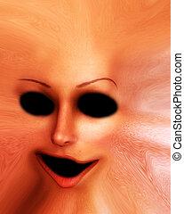 Horror Skin Face 4