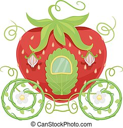 Horse Carriage Strawberry