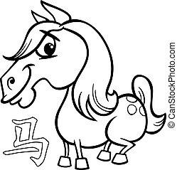 horse chinese zodiac horoscope sign