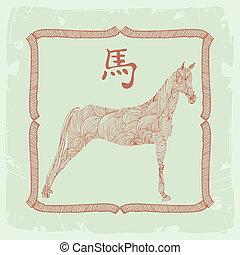 horse- Chinese zodiac sign