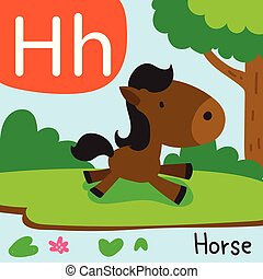 horse drawing line vector design