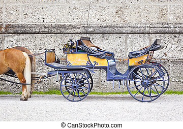 horse drawn carriage - An image of a nice horse drawn...