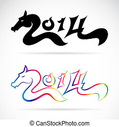Horse for 2014  New Year - Year of the horse