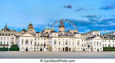 Horse Guards building in the City of Westminster, London