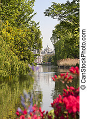 Horse Guards Parade, view from St. James's Park, London, UK