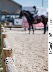 horse jumping competition
