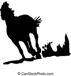 horse, logo