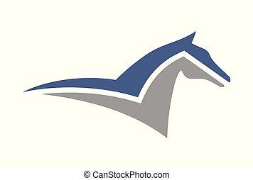 horse logo vector logo