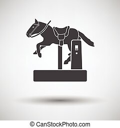 Horse machine icon