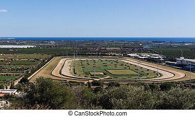 Horse racecourse