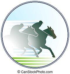 horse-racing, 印
