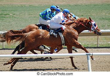 Quarter horse racing in Utah