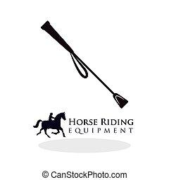 Horse ridding design. equipment icon. isolated illustration