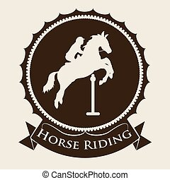 Horse Riding design - Horse Riding digital design, vector...