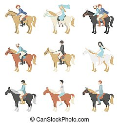 Horse riding lessons.