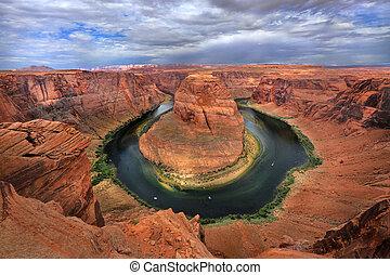 Horse Shoe Bend of the Grand Canyon Arizona USA Colorado River
