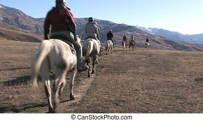Horse trek 2 - Cadrona.