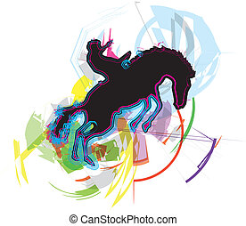 Horse vector illustration