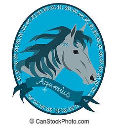 Horse zodiac - Aquarius