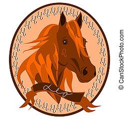 Horse zodiac - Leo