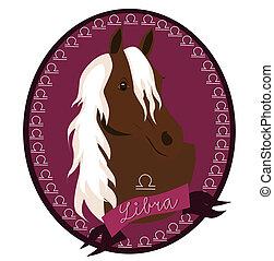 Horse zodiac - Libra