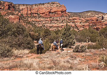 Horseback Riding in Sedona\\\'s Red Rock Country