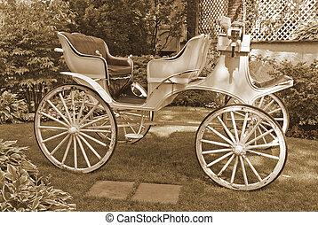 Horseless Carriage Sepia
