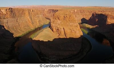 Horseshoe Bend Page Arizona at Sunrise - Beautiful Sunrise...