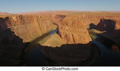Horseshoe Bend Page Arizona at Sunrise - Beautiful Sunrise...