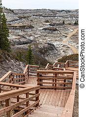 Horseshoe Canyon , Alberta
