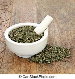 Horsetail Leaf Herb - Horsetail leaf herb used in...