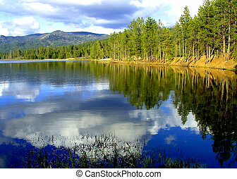 Horsethief Reservoir,Valley County idaho