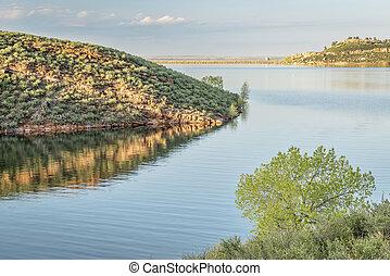 Horsetooth Reservoit at springitme - Horsetooth Reservoir ...
