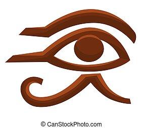Horus eye Egyptian symbol Egypt ancient religion