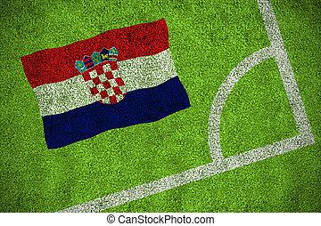 horvátország, nemzeti lobogó