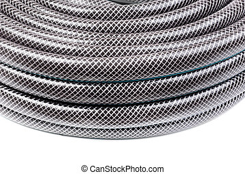 hose for watering isolated on a white background