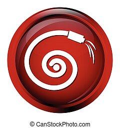 Hose icon, garden hose icon