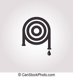 hose icon on white background